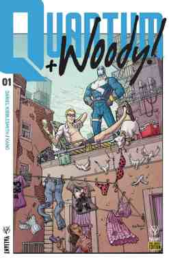 QUANTUM AND WOODY #1 – Pre-Order Edition Variant by Nick Pitarra