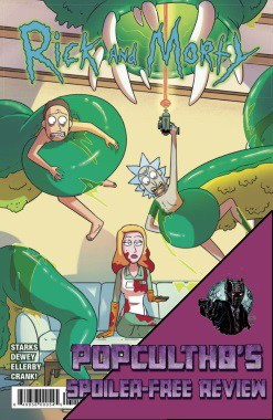 PopCultHQ Comic Book Review: RICK AND MORTY #30 from Oni Press