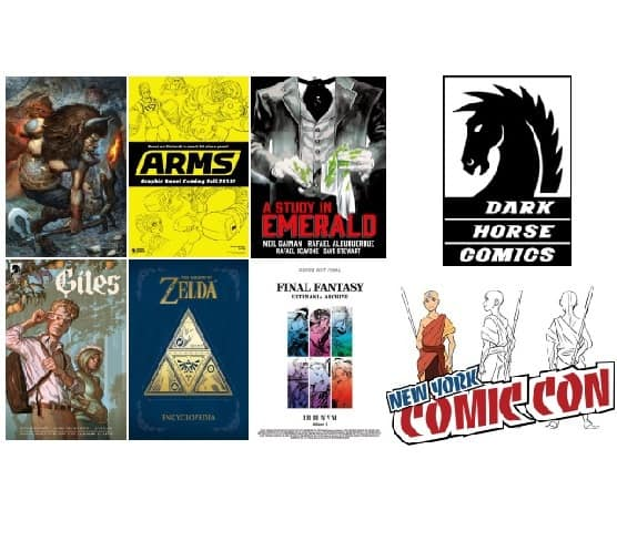 NYCC 2017: Dark Horse Comics Announces New Creator-Owned & Licensed Projects for 2018