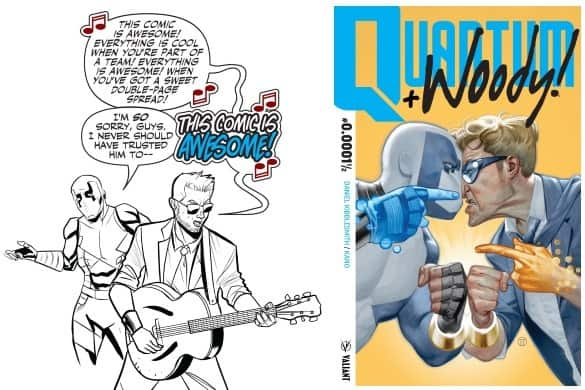 [Preview] Valiant Debuts QUANTUM AND WOODY! #0.0001½ - Free Digital-First Prelude Available Now!