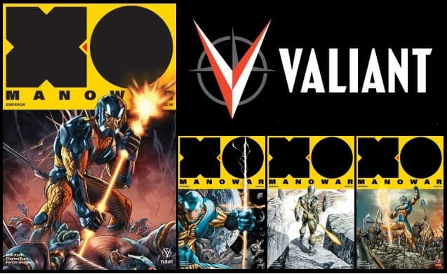 [Preview] Valiant's 10/25 Release: X-O MANOWAR #8 by Matt Kindt & Clayton Crain w/ Renato Guedes