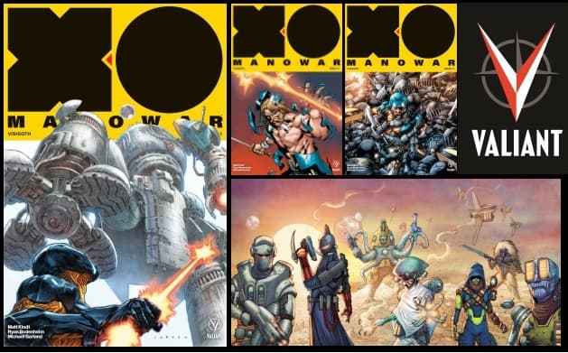 "[Preview] New Jumping-On Point as X-O MANOWAR #11 Unleashes ""VISIGOTH"""