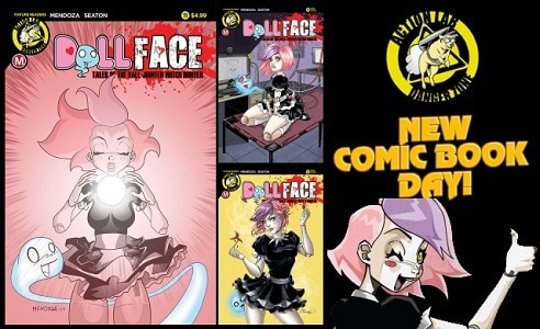 [Preview] Action Lab: Danger Zone's 11/22 Release: DOLLFACE #11
