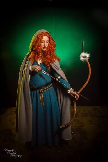 Valerie Meachum as Merida by Kaminsky Kandids