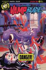 Vampblade Season 2 #9 - Cover B by Winston Young