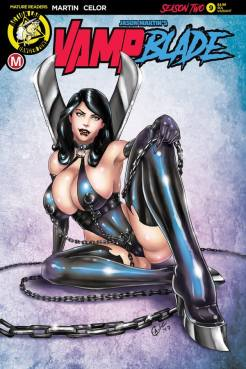 Vampblade Season 2 #9 - Cover E by David Harrigan