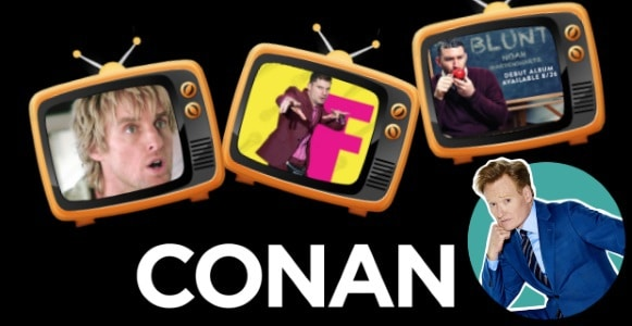 Last Night on CONAN - 12/13/17: Owen Wilson | Flula Borg | Noah Gardenswartz