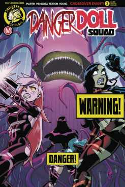 Danger Doll Squad #3 - Cover F by Winston Young