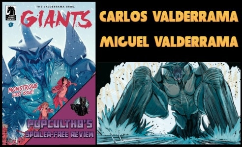 [Comic Book Review] Dark Horse Comics' GIANTS #1 by Carlos & Miguel Valderrama