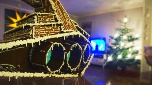 Gingerbread Star Destroyer pic 3