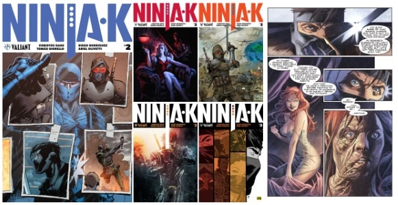 [Preview] Valiant Entertainment's 12/20 Release: NINJA-K #2 by Christos Gage & Tomás Giorello #NCBD