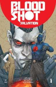 Bloodshot Salvation #5 - Cover A (Standard) by Kenneth Rocafort