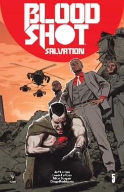 Bloodshot Salvation #5 - Interlocking Variant by Greg Smallwood