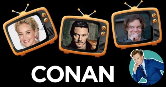 Last Night on CONAN - 1/22/18: Sharon Stone | Luke Evans | Ismo