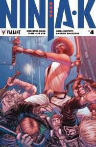 NINJA-K #4 – Ninjak Icon Variant by Juan Jose Ryp