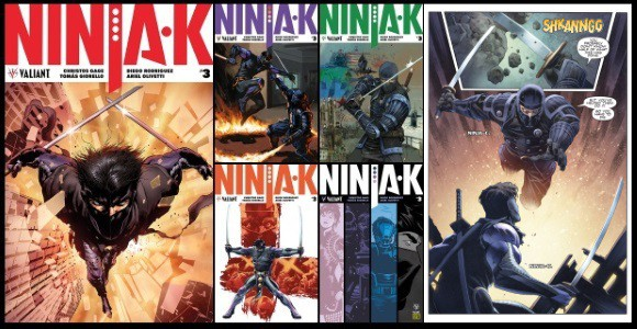 [Preview] Valiant's 1/24 Release: NINJA-K #3 by Christos Gage & Tomás Giorello