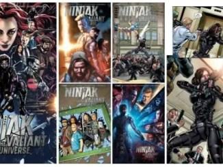 Ninjak vs. the Valiant Universe #1