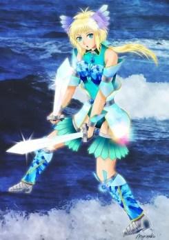 Princess Tsunami Reflection by Morinekozion