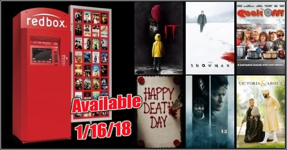 New to Redbox - 1/16/18: Preview & Trailers of This Week's New Releases