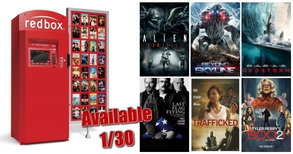 New to Redbox - 1/30/18: Preview & Trailers of This Week's New Releases