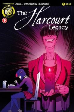The Harcourt Legacy #3 - Cover A by Jason Federhenn and Josh Burcham