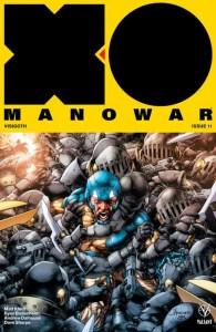 X-O MANOWAR #11 – X-O Manowar Icon Variant by Jay Anacleto