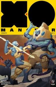 X-O MANOWAR #11 – Interlocking Variant by Ariel Olivetti
