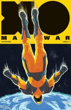 X-O MANOWAR #14 – Cover B by Raúl Allén