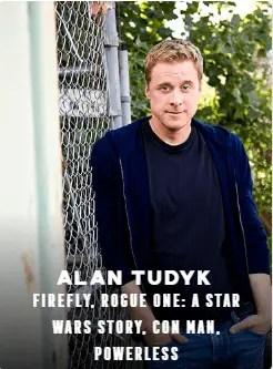 Alan Tudyk appearing at C2E2 2018