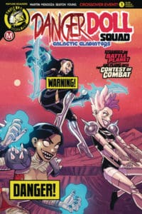 Danger Doll Squad Volume 2 #1 - Cover B Winston Young Risqué variant