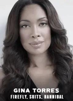 Gina Torres appearing at C2E2 2018