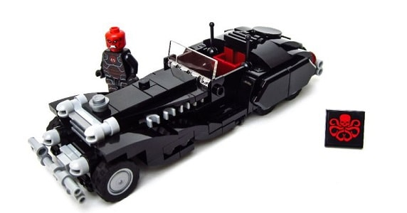 Check Out a Red Skull's Coupe in Legos – PopCultHQ