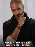 Ricky Whittle appearing at C2E2 2018