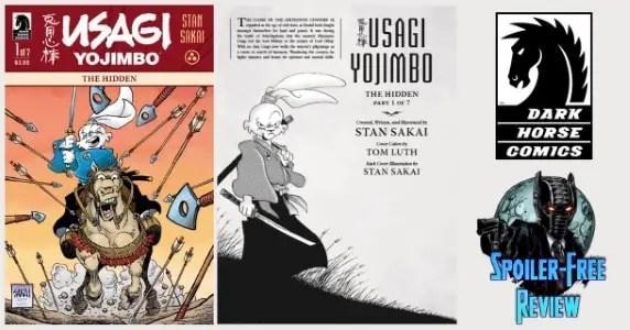 Usagi Yojimbo The Hidden #1