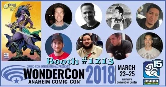 WonderCon 2018 - Aspen Comics
