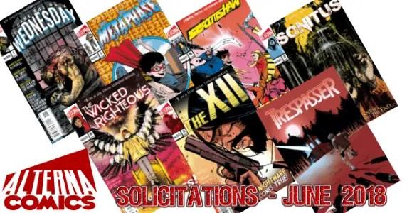 Alterna Comics Solicits - June 2018