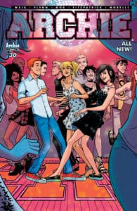 Archie #30 - Variant Cover by Sandy Jarrell with Kelly Fitzpatrick