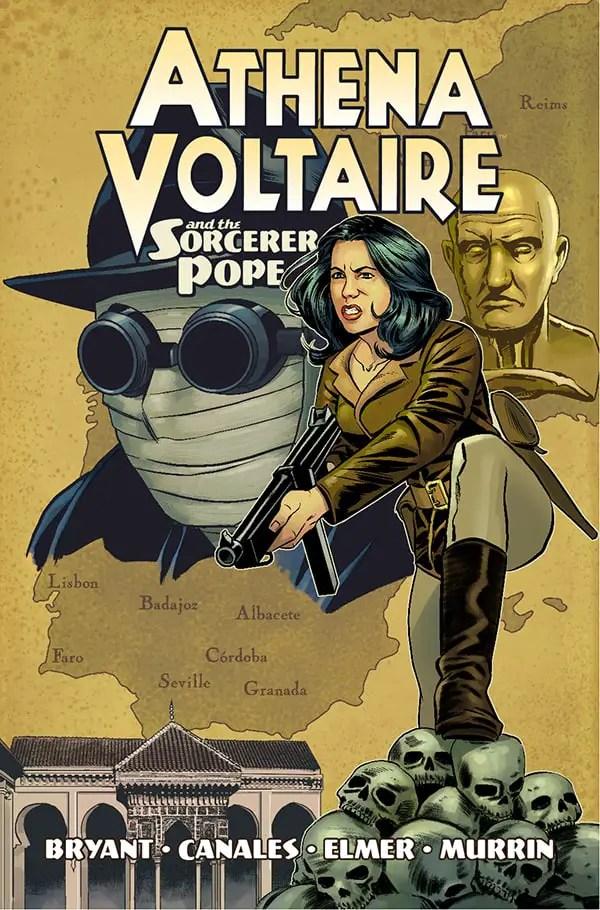 Athena Voltaire Volume 1 TPB Cover