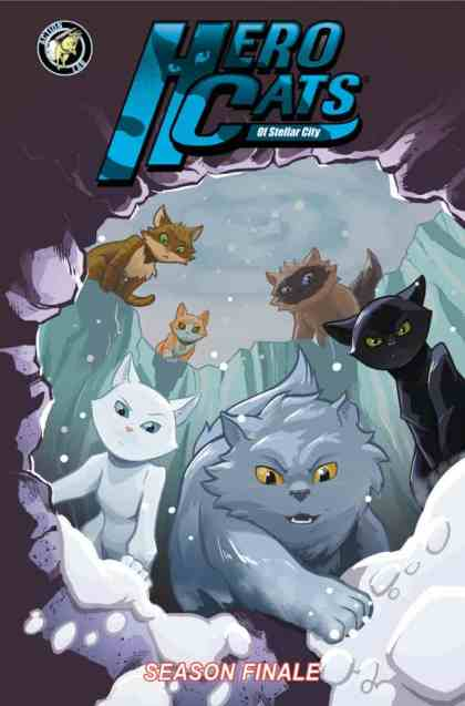 Hero Cats Volume 7 Season Finale Cover