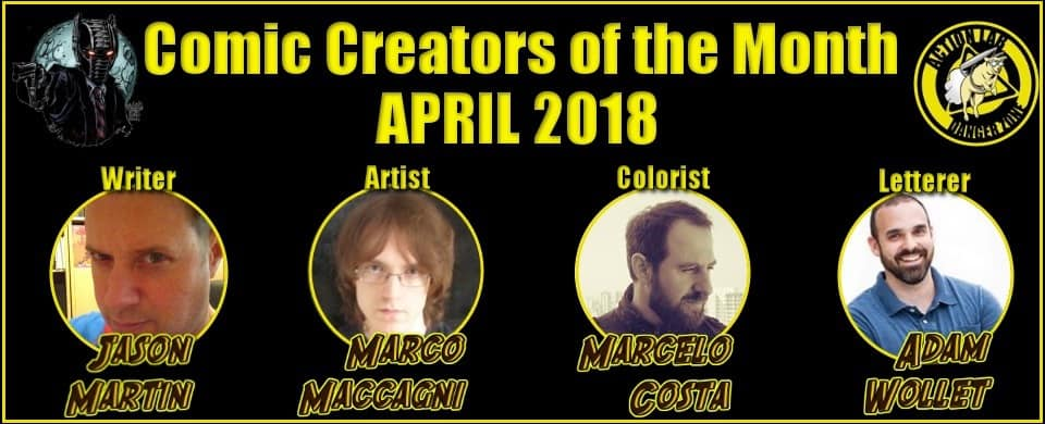 PopCultHQ's Creators of the Month - April 2018