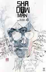 shadow man Cover B by DAVID MACK