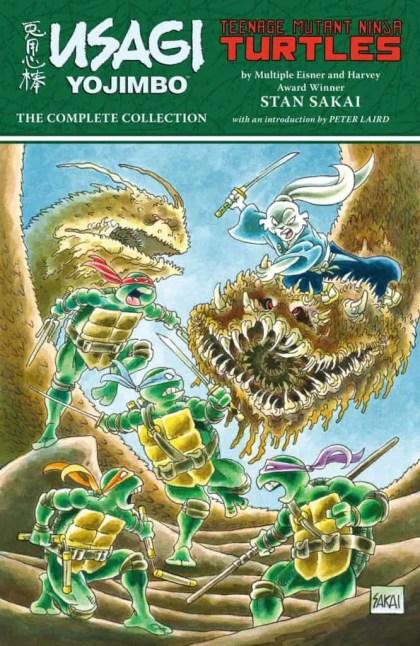 Usagi Yojimbo/Teenage Mutant Ninja Turtles: The Complete Collection TPB cover