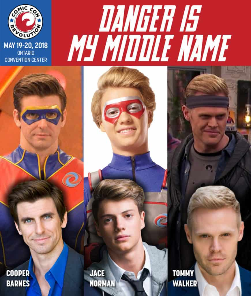 [Convention] Meet Cast Members of Nickelodeon's HENRY DANGER at Comic Con Revolution: Ontario
