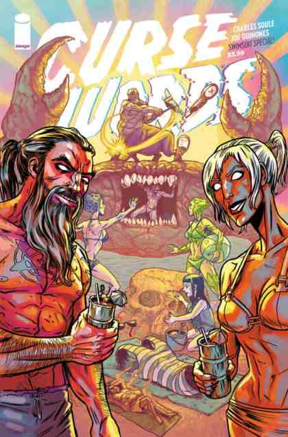 CURSE WORDS SUMMER SWIMSUIT SPECIAL #1 - Cover A by Ryan Browne