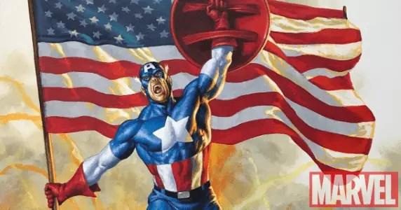 Captain America #1 Joe Jusko variant