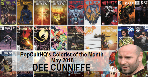 Dee Cunniffe - Colorist of the Month May 2018