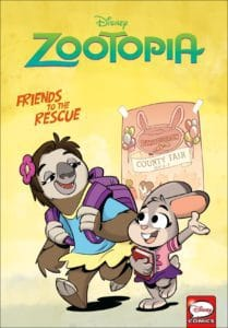 Disney Zootopia: Friends to the Rescue OGN cover
