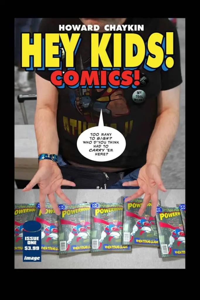 HEY KIDS! COMICS! #1 cover