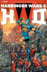 HARBINGER WARS 2 #4 (of 4) - Interlocking Variant by Juan Jose Ryp
