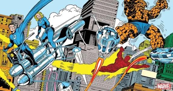 Jack Kirby Fantastic Four
